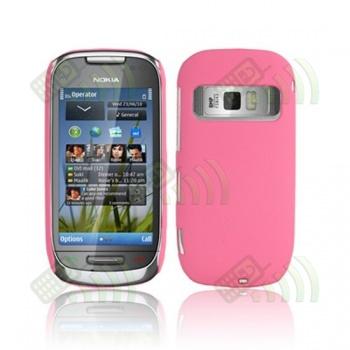 Carcasa trasera Nokia C7 Rosa