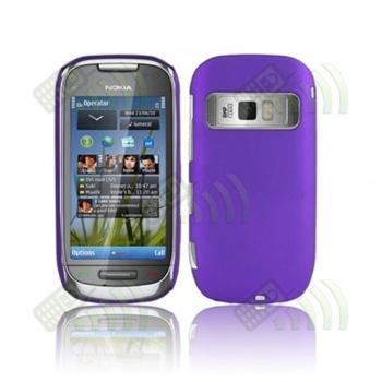Carcasa trasera Nokia C7 Morada