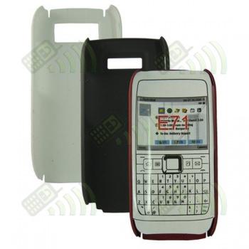Carcasa trasera Nokia E71 Roja