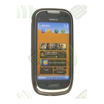 Funda Gel Nokia C7-00 Oscura Diamond