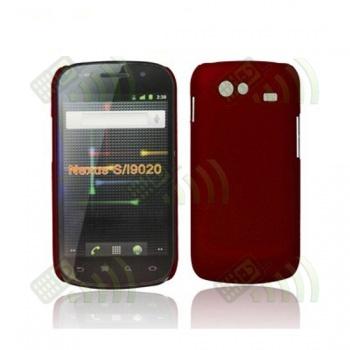 Carcasa trasera Samsung Nexus S i9020 Roja