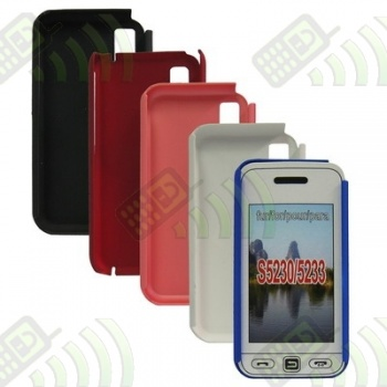 Carcasa trasera Samsung S5230/S5233 Roja