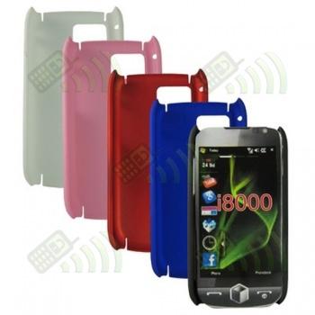 Carcasa trasera Samsung i8000 Roja