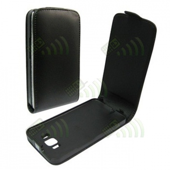 Funda Solapa HTC HD2 negra