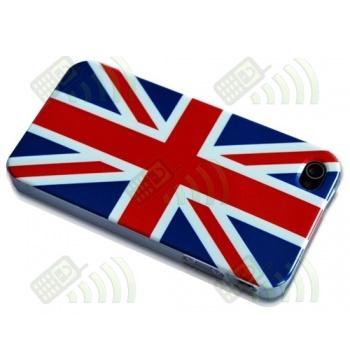 Carcasa trasera Inglaterra/UK Iphone 4G/4S