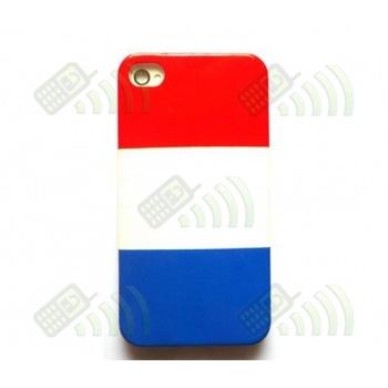 Carcasa trasera Francia Iphone 4