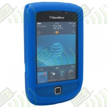 Funda Silicona BB 9800 Torch Azul