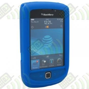 Funda Silicona BB 9800 Torch Azul