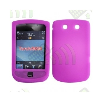 Funda Silicona BB 9800 Torch Rosa